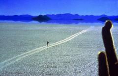 en Bolivie, sur le salar de Uyuni - J.Balhi